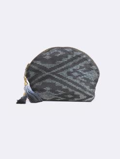 Seminyak Dip Dye Tassle Cosmetic Bag -JADETRIBE