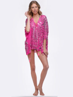 HarrietSellingSexySt.TropezDress(hotpink)FRONT(HSSSTP)
