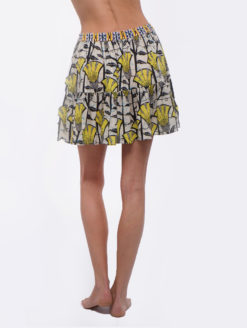 Love Sam Lemeki Print Mosi Flouncy Skirt