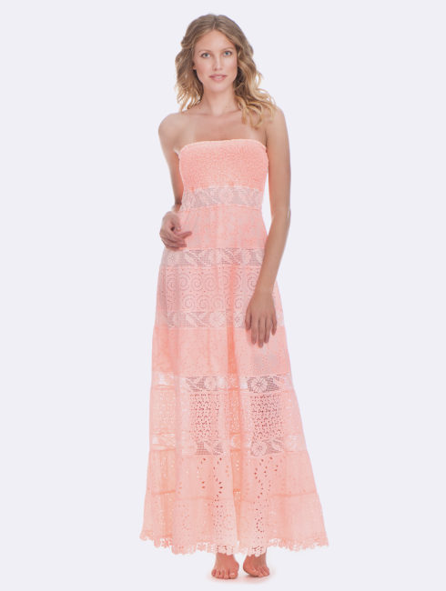 Temptation Positano Peach Dublino Dress
