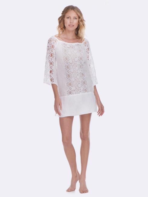 Temptation Positano White Monreale Dress