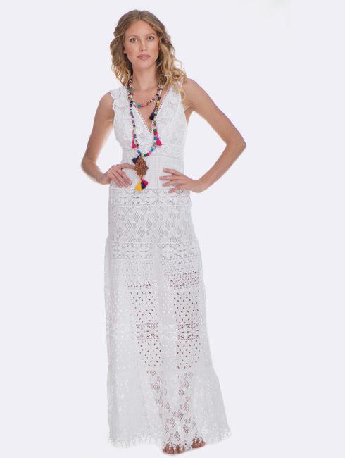 Temptation Positano White Paola Dress