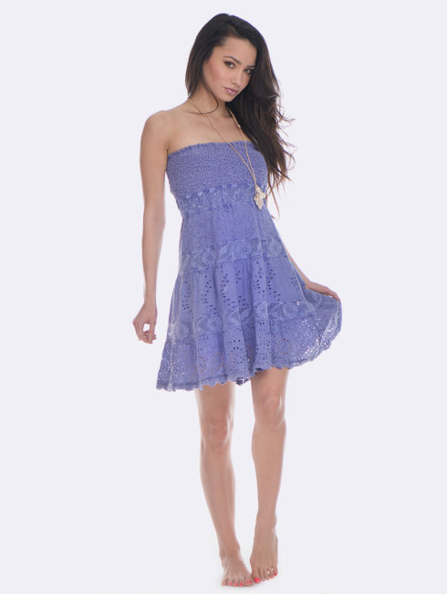 Temptation Positano Lavender Pignola Dress