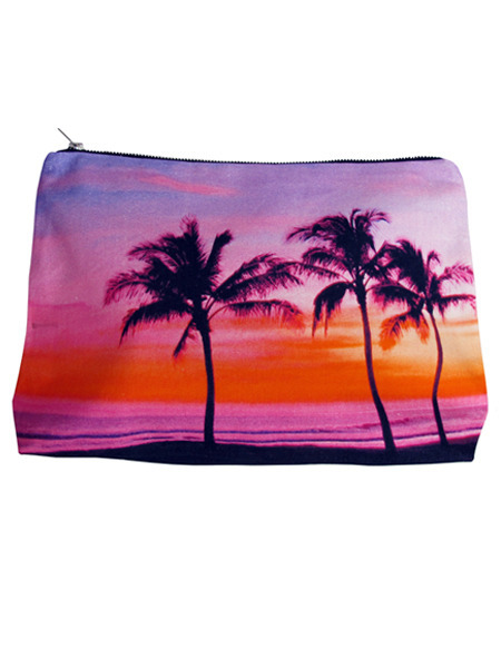 Three Coco Palms Pouch - Samudra Bags