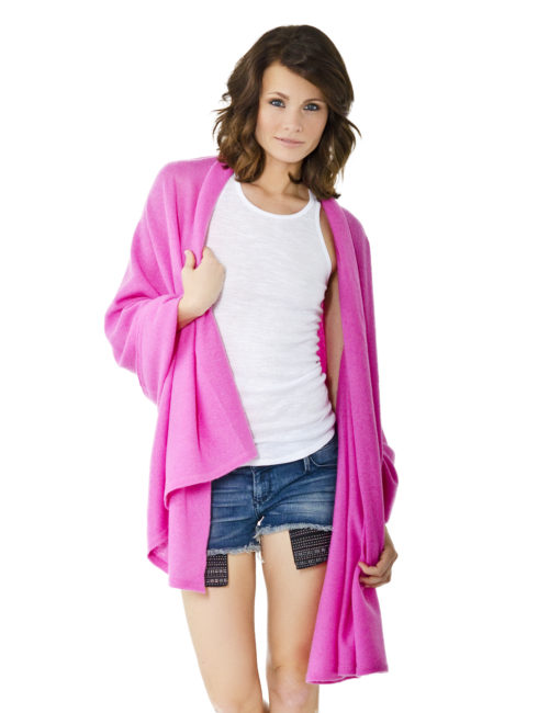 MINNIE ROSE FUCHSIA BLANKIE WRAP - shop amla