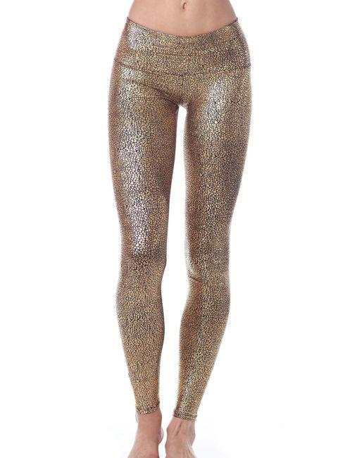 Purusha People Golden Goddess Yoga Pants