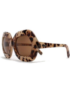 QUAY Rock Baby Sunglasses - Leopard