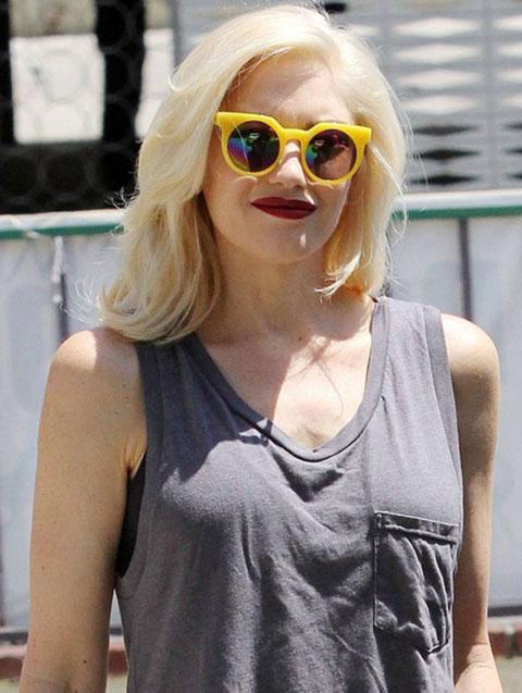 QUAY-Yellow Frankie Sunglasses