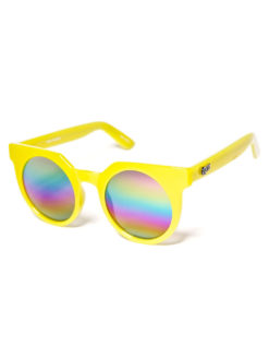 QUAY-Yellow Frankie Sunglasses
