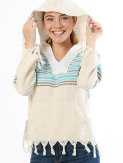 TURKS PULLOVER HOODIE Beach Sweatshirt