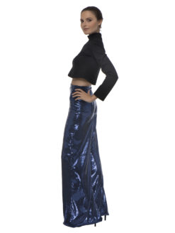 Ripley Rader Blue Sequin Pants 3