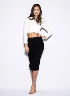 blaque-label-black-pencil-skirt