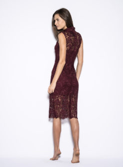 blaque-label-wine-lace-dress-back