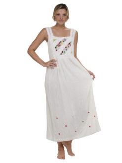 Blue Hippy Maxi Ivory Joy Dress