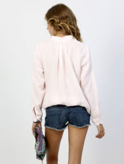 American Colors Pique Pullover Pink