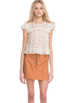 Line + Dot - Twiggy Blouse - Amanada Mills Los Angeles