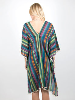 Delsie-Kaftan-Multicolored-back