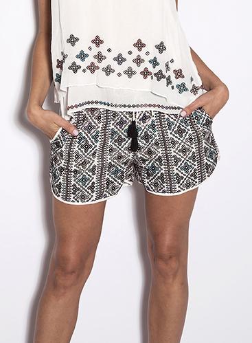 Love Sam Makayla Beaded Shorts