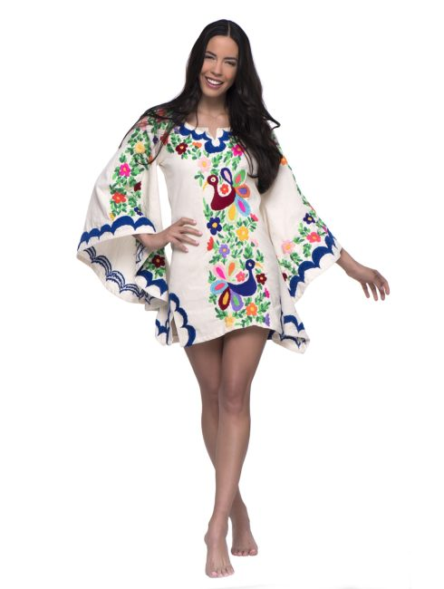 Aquz Embroidered Trim Dress - Santa Marguerite