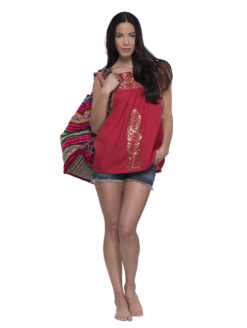 santa-marguerite-scarlet-embroidered-top-red-front-with-bag