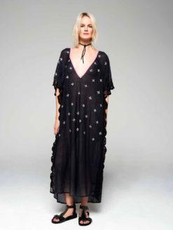 Brigitte Bardot Collection Black Diamonds Kaftan
