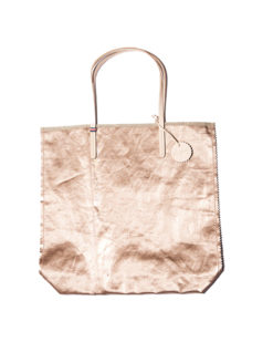 Jack Gomme Ami F Tote Bag Rose Gold