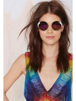 Quay X- Poly Sunglasses-amla