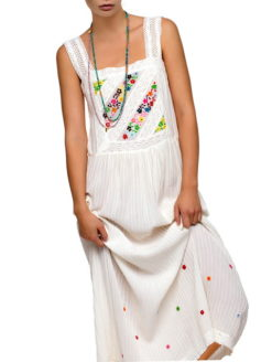 48aece600c0 BLUE HIPPY JOY MAXI SUNDRESS
