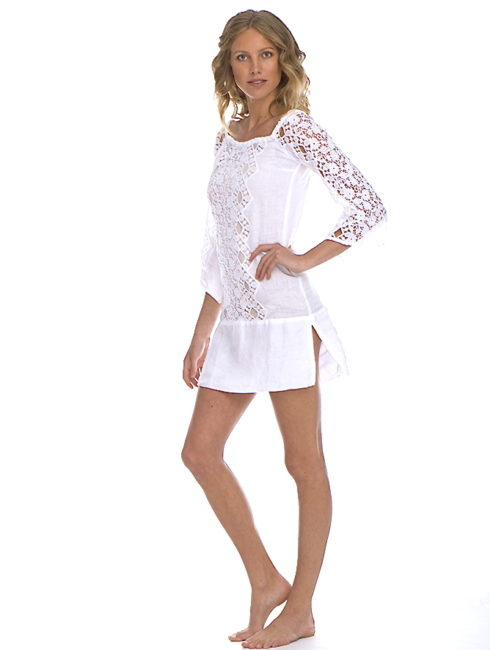 TEMPTATION POSITANO WHITE MONREALE DRESS - shop amla