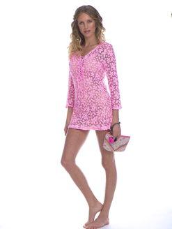 Temptation Positano Pink Alghero Dress- amla