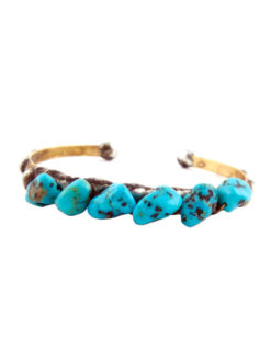 MIKAL WINN TURQUOISE STACKABLE CUFF