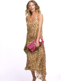 Mes Demoiselles Leopard Prisca Dress - SHOP AMLA