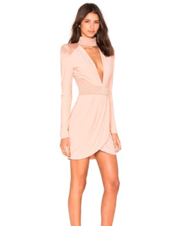 Zhivago Swallow Nude Dress - Amanda Mills Los Angeles