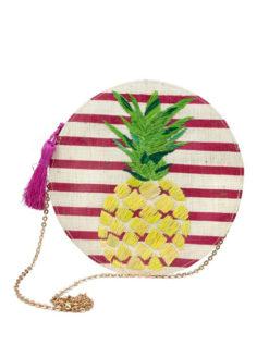 Kayu Luna Pineapple Purse - Amanda Mills LA