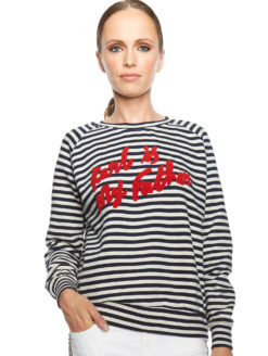 FATHER KARL STRIPED PARISIAN SWEATSHIRT