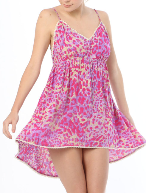 Tulle & Batiste - Hunter Love Mini Dress - Magenta - Amanda Mills LA