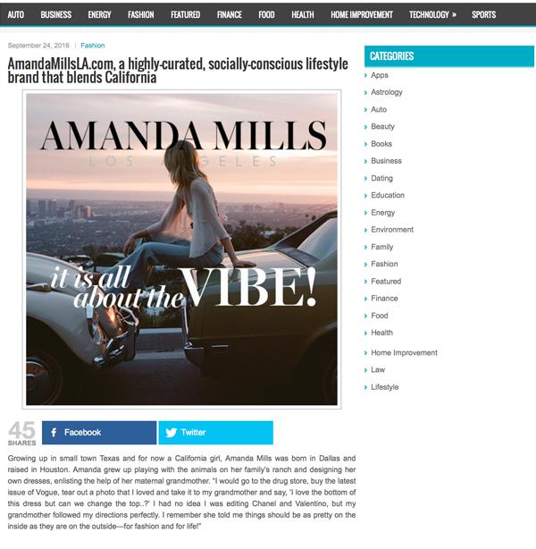 Amanda Mills Los Angeles sarahsharp blog post