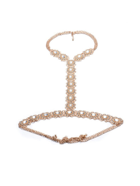 Party-Jewelry-Gold-Body-Chain