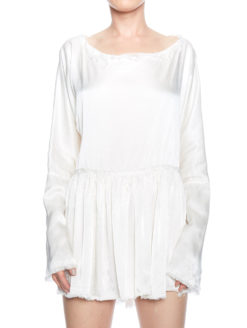 Silk Blouse - White