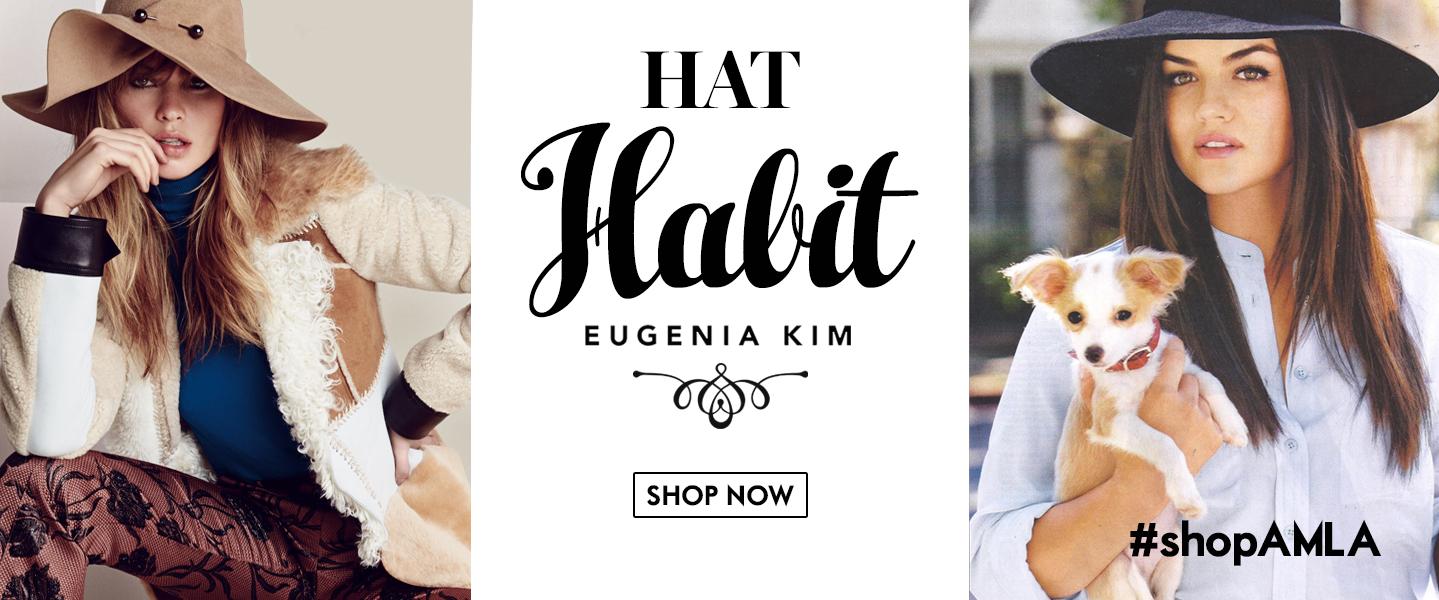 Amanda Mills Los Angeles Eugenia Kim Hat Habit