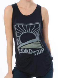 Brokedown - Roadtrip Tank - Black