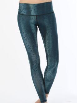 Snakeskin Turquoise Legging