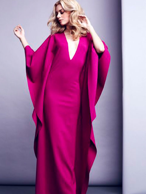 Long Gown - Fuchsia