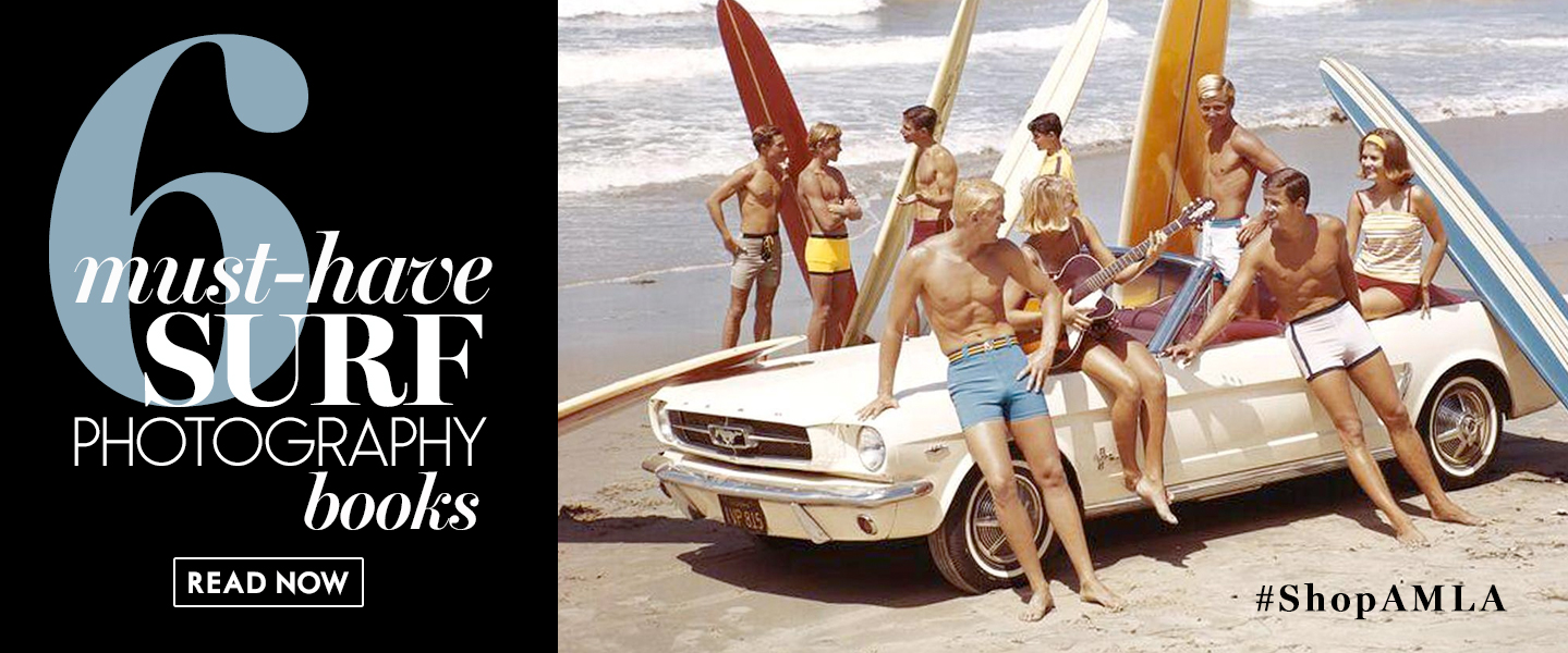 Amanda Mills Los Angeles six must have surf photography books