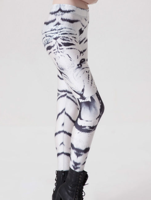Tiger Print Women's Yoga Leggings