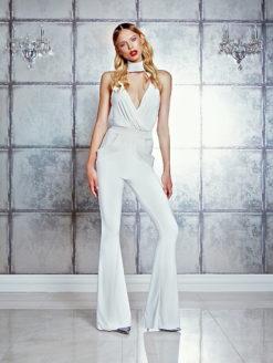 Zhivago Siempre Style White Jumpsuit
