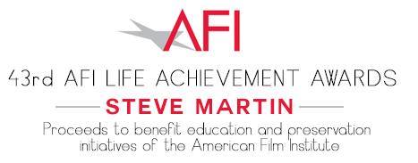 Amanda Mills Los Angeles Steve Martin lifetime achievement award American film Institute