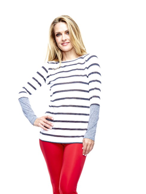 Long sleeved Striped Reglam Shirt