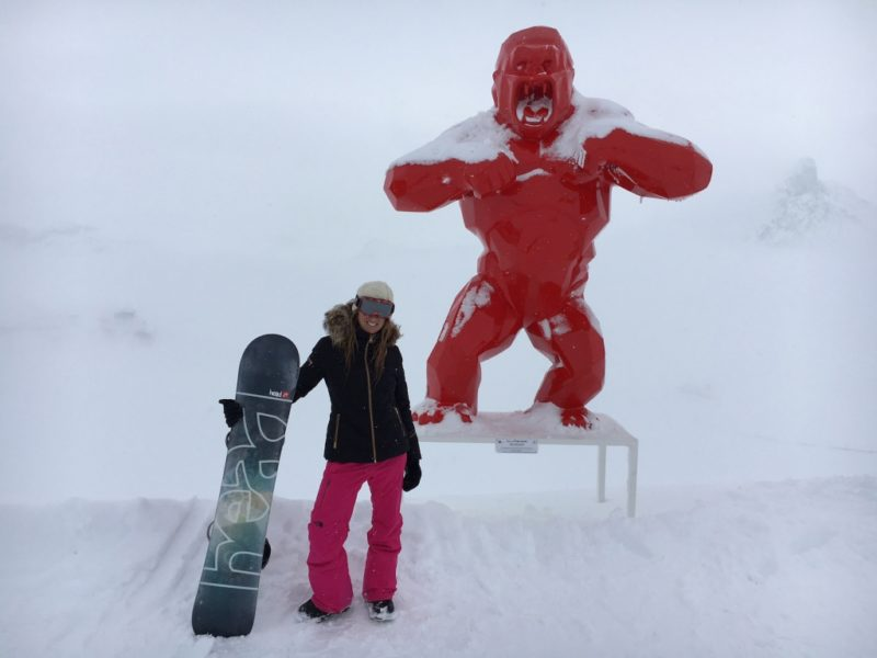 Ski Europe Gstaad St Moritz Courchevel Zermatt? Amanda Mills LA-Richard Orlinski 1850 in Courchevel