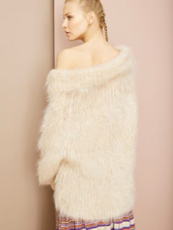 Mes Demoiselles Moody Sweater - White - Amanda Mills Los Angeles